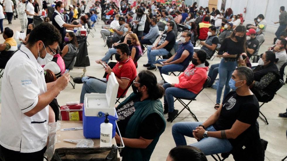 """""""Ya es un hecho"""" que vacunación redujo en 80% muertes por COVID-19: AMLO - vacunación COVID Guanajuato México"""