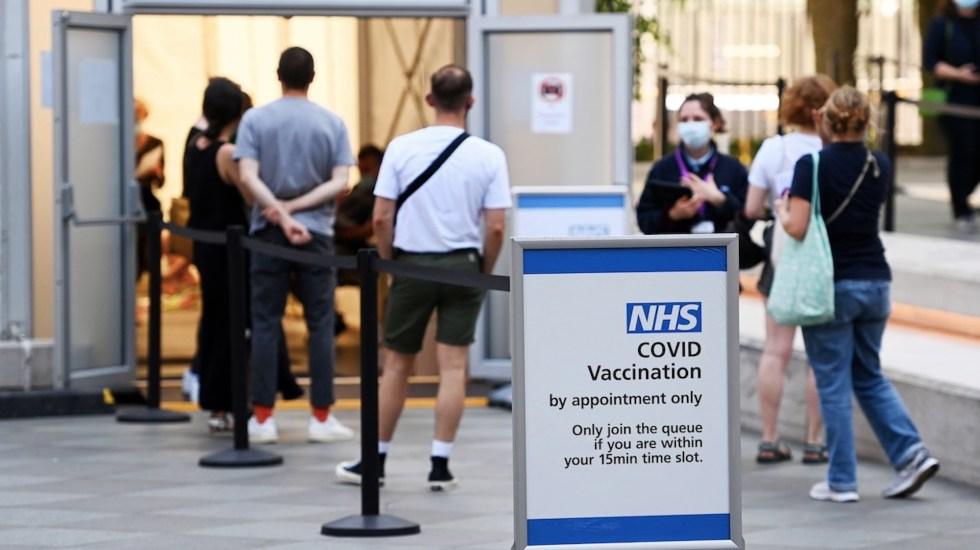 Gobierno británico emitirá certificados de vacunación en septiembre - Gobierno británico emitirá certificados de vacunación en septiembre. Foto de EFE