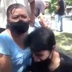 Menor en Xalapa entra en crisis nerviosa tras supuesta agresión de personal de Seguridad al intentar acercarse a AMLO