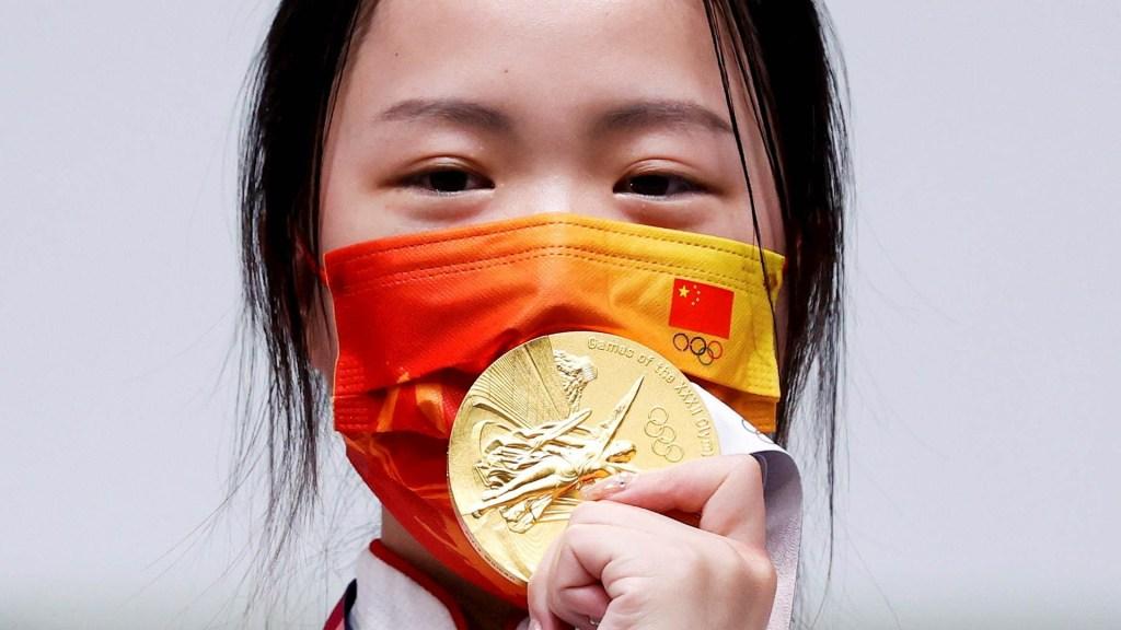 Yang Qian se lleva la primera medalla de oro en Tokio - Yang Qian Juegos olímpicos Tokio 2020