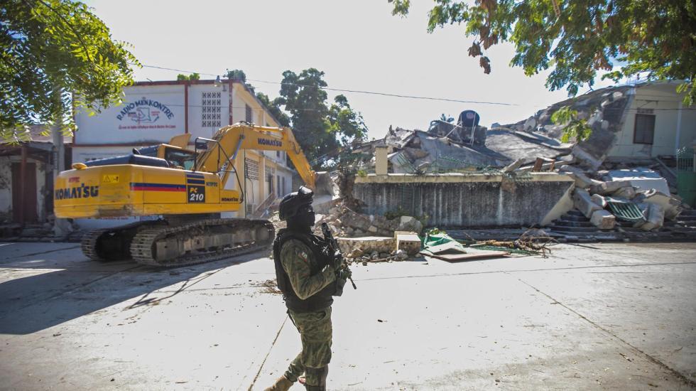 Suman mil 297 muertos por el terremoto en Haití - terremoto en haití