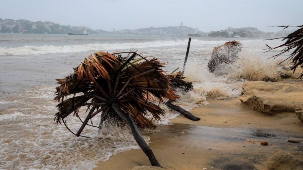 Tormenta tropical Nora se acerca a costas de Colima - Acapulco Guerrero Nora