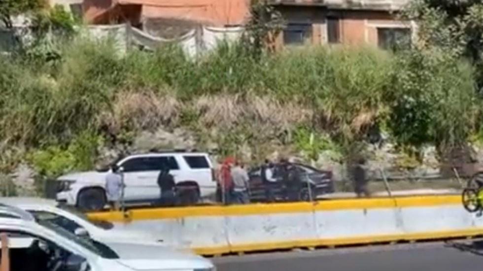 Fiscal de Morelos sufre agresión sobre la México-Acapulco; hay dos detenidos - Agresión fiscal Morelos México estados México Acapulco