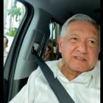 """Inédita 'mañanera' en Chiapas. CNTE retiene al presidente; """"no voy a ceder a chantajes"""", dice AMLO desde camioneta"""