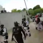 #Video Apedrean a miembros de la Guardia Nacional en Oaxaca