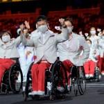 Mecánicos de personas, los otros protagonistas de los Paralímpicos - Atletas de Japón en ceremonia de inauguración de Juegos Paralímpicos de Tokio