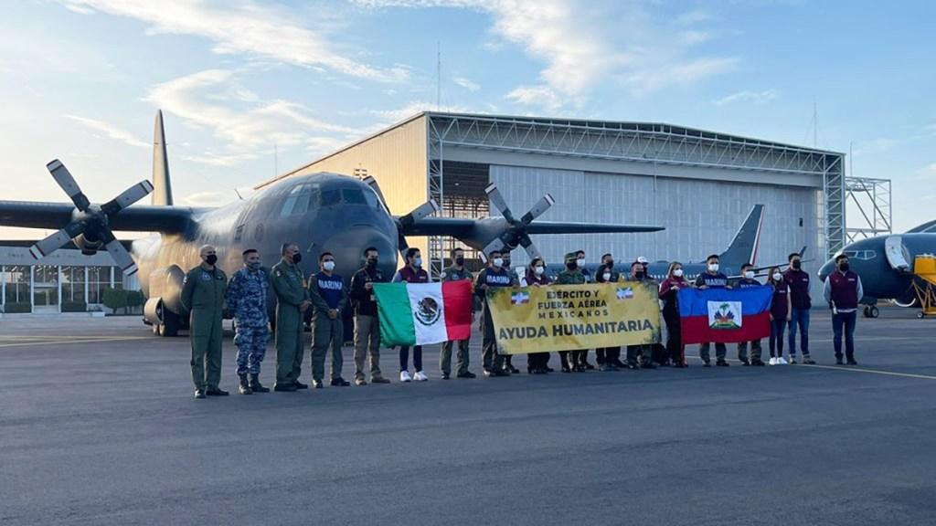 México envía a Haití tres aviones más con ayuda humanitaria - Aviones con ayuda humanitaria para Haití