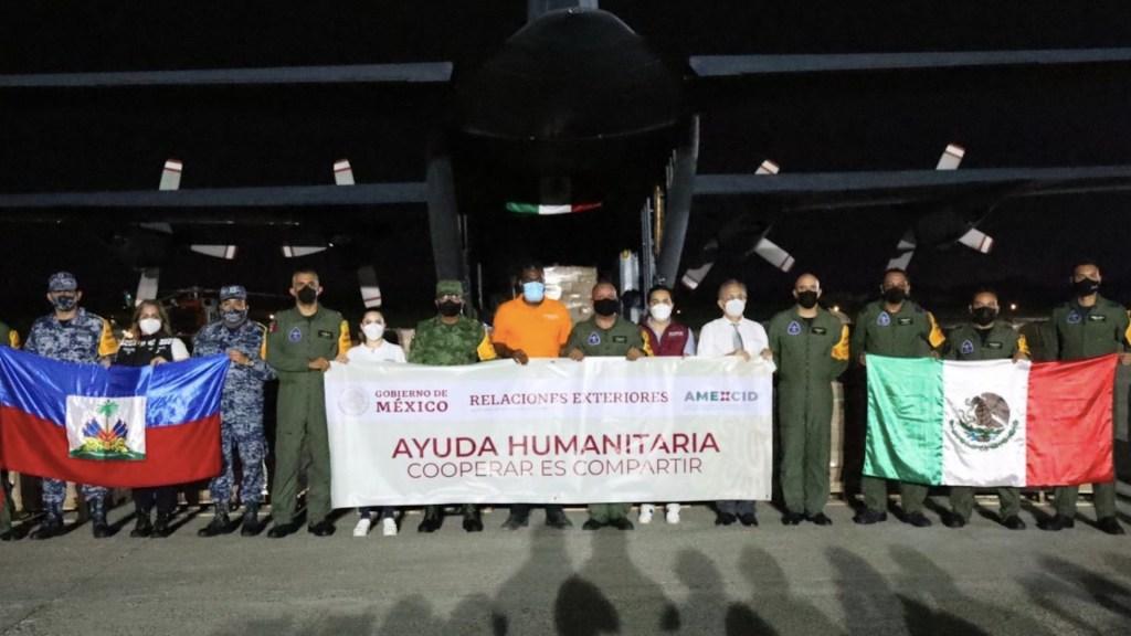 México envía tres aviones de ayuda humanitaria a Haití - México envía tres aviones de ayuda humanitaria a Haití. Foto de SRE