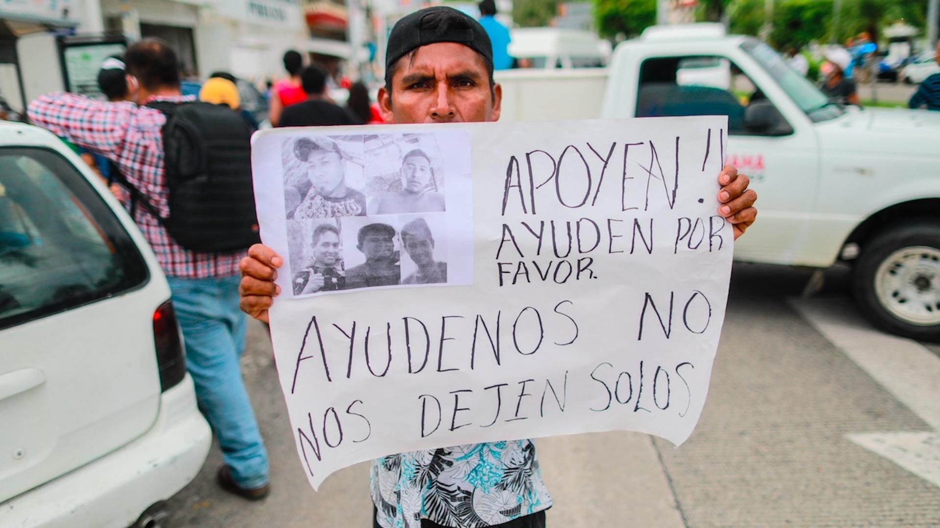 Buscan a seis pescadores desaparecidos tras el paso de Nora. Foto de EFE