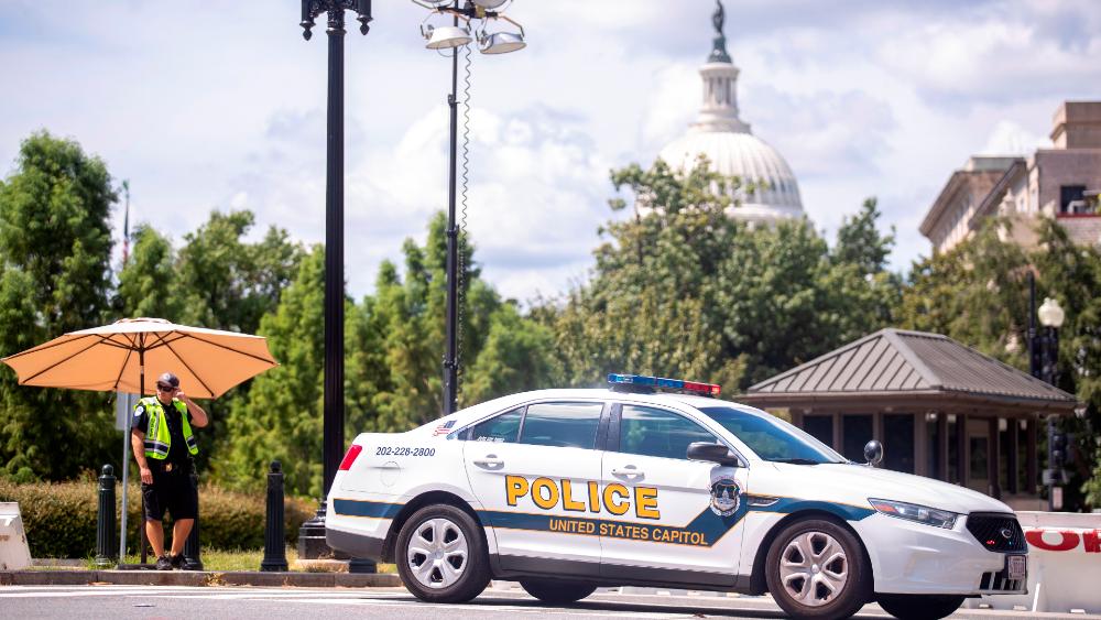Congreso de EE.UU.: Se rinde el hombre que desató amenaza de bomba - Capitolio Congreso EE.UU. bomba