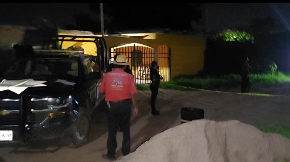 Hallan muerto a exvocalista de Banda Guasaveña de Valentín Elizalde - Casa de exvocalista de Banda Guasaveña de Valentín Elizalde