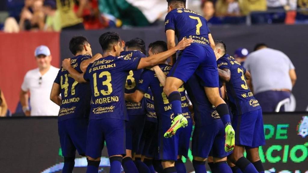 Pumas vence en penales al New York FC y avanza a semifinales - Celebración Pumas UNAM NYC FC