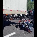 Accidente en la México-Cuernavaca deja 6 motociclistas muertos y 15 heridos