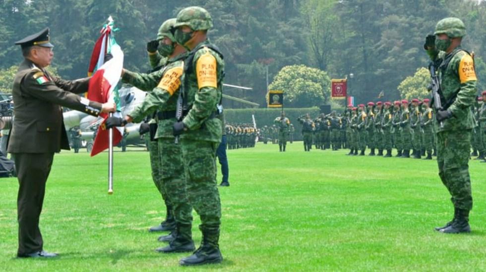 Eufemio Alberto Ibarra Flores nuevo comandante del Ejército Mexicano - . Eufemio Alberto Ibarra Flores nuevo comandante del Ejército Mexicano. Foto de Twitter Luis Cresencio Sandoval