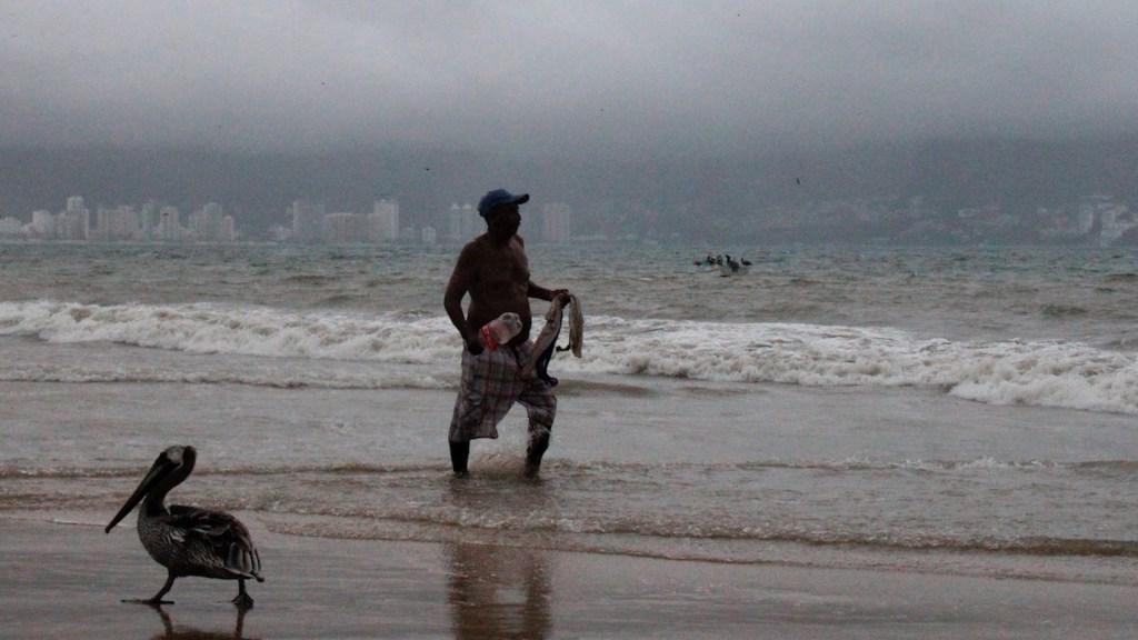 Depresión tropical se forma frente a costas de Guerrero - Depresión tropical se forma frente a costas de Guerrero. Foto de EFE