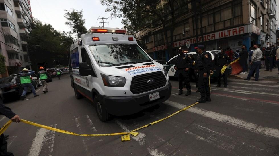 Vecinos de edificio que explotó en la Benito Juárez denuncian robos a sus departamentos - Edificio Benito Juárez departamentos explosión