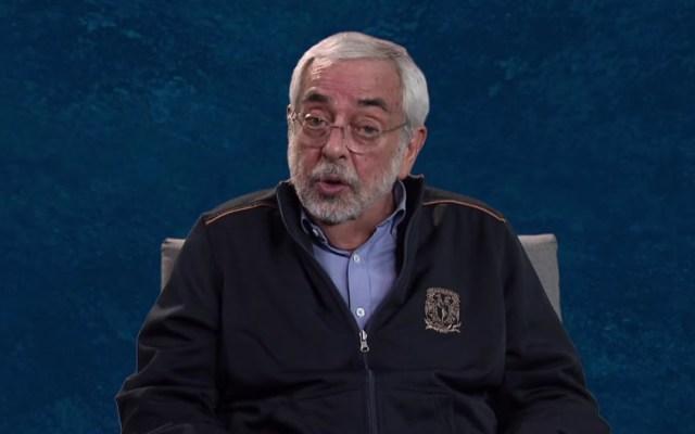 #Video Rector Enrique Graue de la UNAM llama a alumnos a vacunarse - Enrique Graue en mensaje de bienvenida al ciclo escolar 2021-2022