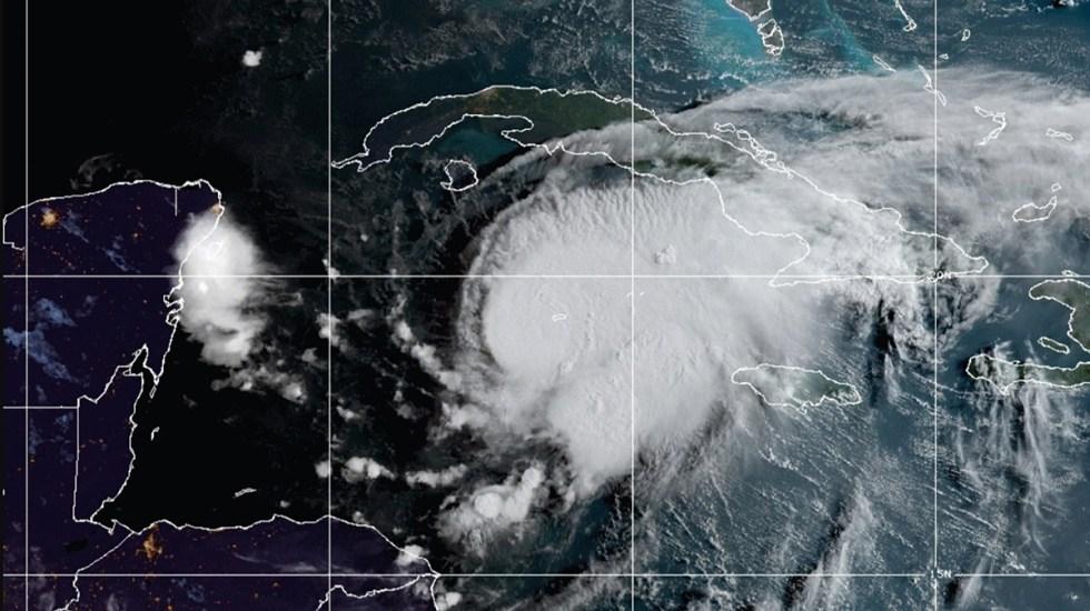 Tormenta tropical Grace se intensifica; ocasionará lluvias y fuertes vientos en Península de Yucatán - Tormenta tropical Grace