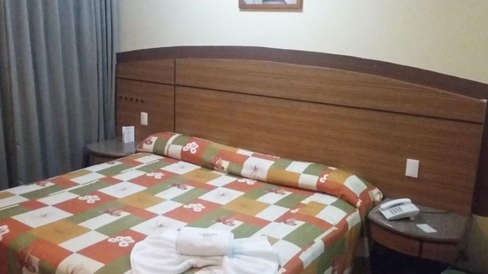Asesinan a mujer en hotel de Azcapotzalco - Habitación de hotel en Azcapotzalco donde fue hallada muerta una mujer