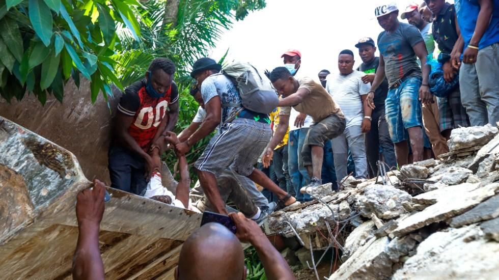 Aumentan a 227 los muertos a causa del terremoto en Haití - Haití terremoto