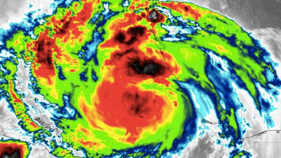 Grace se degrada a Tormenta Tropical; se acerca a Cuatitlán Izcalli y Ciudad de México - Grace, como huracán categoría 1, avanza sobre el centro de México. Foto de @spcver