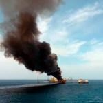 Asciende a cinco cifra de muertos por incendio en plataforma de Pemex