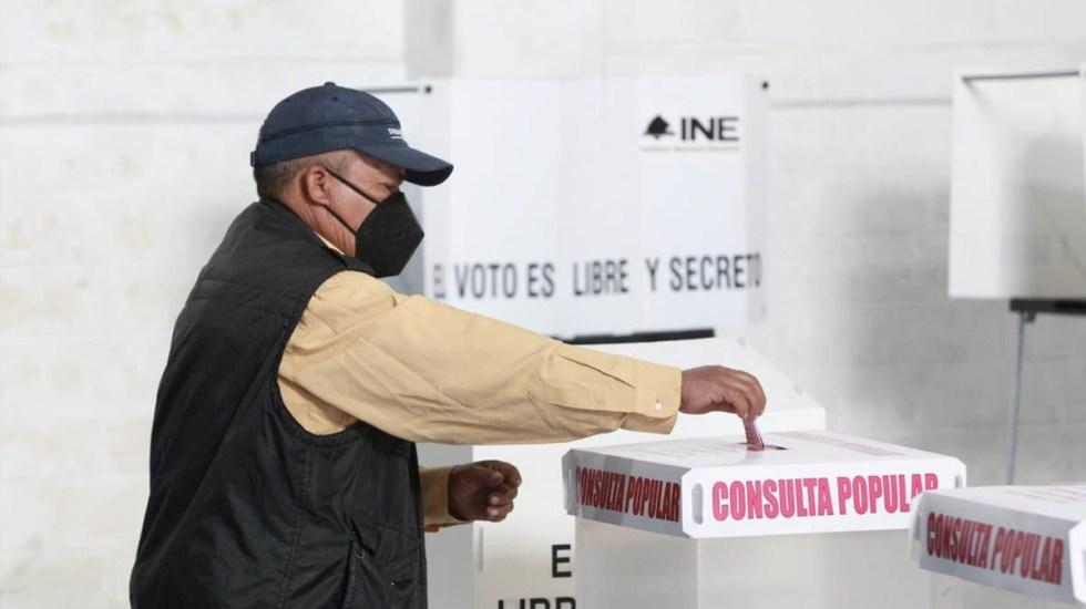 Gana el SÍ en la consulta popular de México; fue exitosa, señala Córdova - INE consulta popular México Instituto Nacional Electoral
