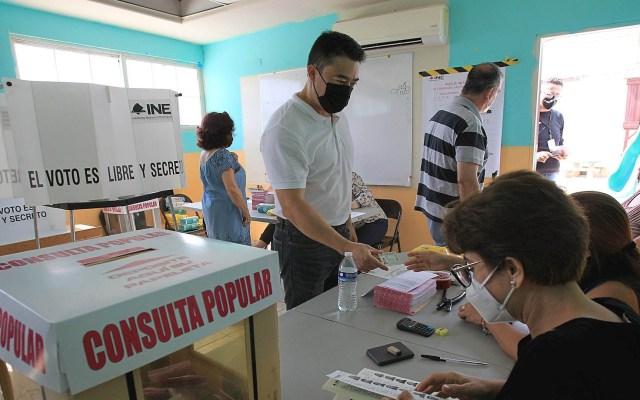 Cierran las casillas de la Consulta Popular - INE consulta popular México