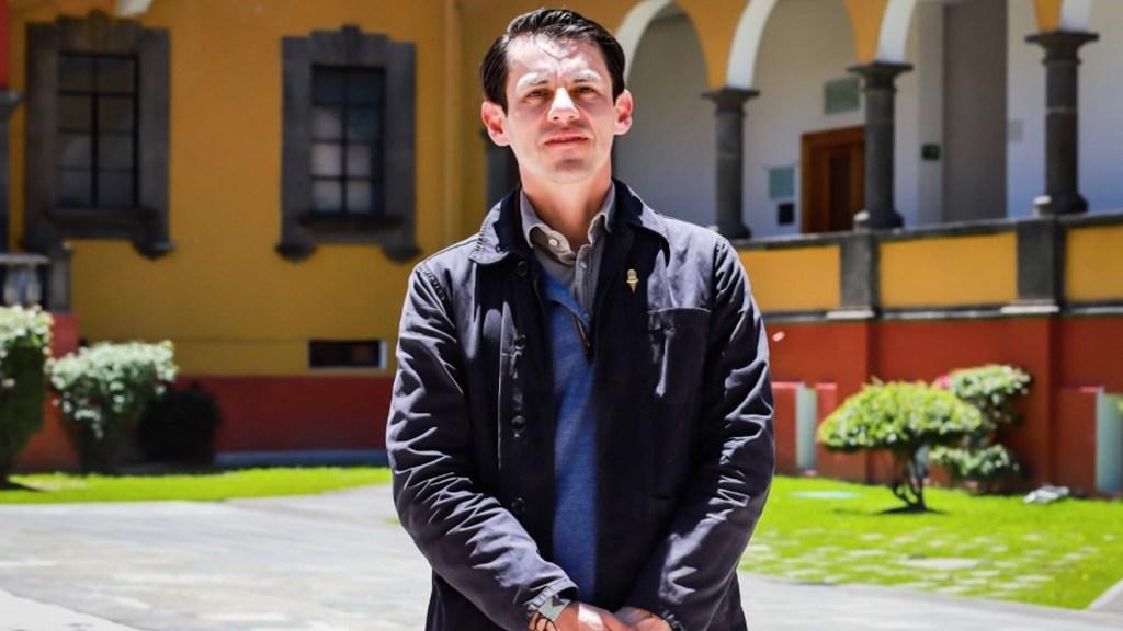 Isaac Macip Martínez es el nuevo vocero de la Secretaría de Cultura. Foto de Secretaría de Cultura