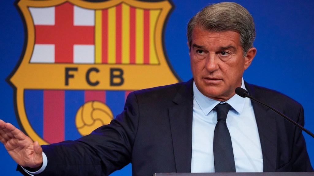Deuda del Barcelona es de mil 350 millones de euros, confirma Laporta - Deuda del Barcelona es de mil 350 millones de euros, confirma Laporta. Foto de EFE