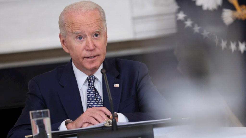 Biden eleva a cinco mil el despliegue de tropas en Afganistán - El presidente de Estados Unidos, Joe Biden. Foto de EFE/ EPA/ Oliver Contreras / POOL.