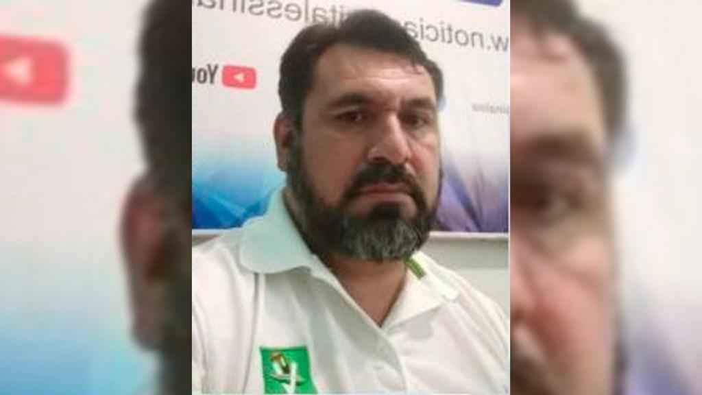 Desaparece líder del PVEM en Sinaloa; hallan abandonado su auto - José Gerardo Ríos Ibarra. Foto de @C4iSinaloa