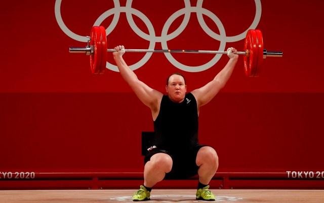 Laurel Hubbard, la primera atleta transgénero en unos Juegos Olímpicos - Laurel Hubbard, primera atleta transgénero en unos Juegos Olímpicos. Foto de EFE/ Miguel Gutiérrez