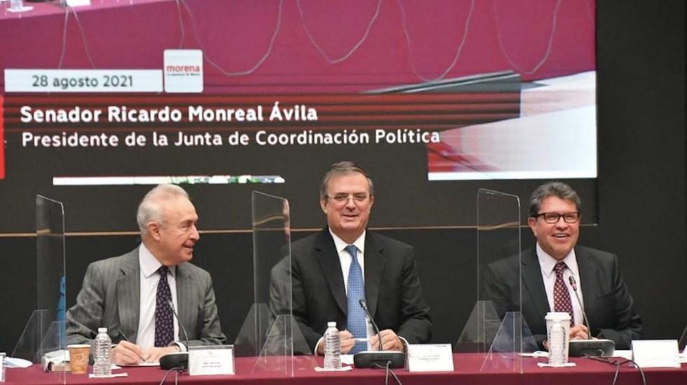 México y EE.UU. buscan nueva estrategia de seguridad, asegura Ebrard - México y EE.UU. buscan nueva estrategia en materia de seguridad, asegura Ebrard. Foto de Twitter Marcelo Ebrard