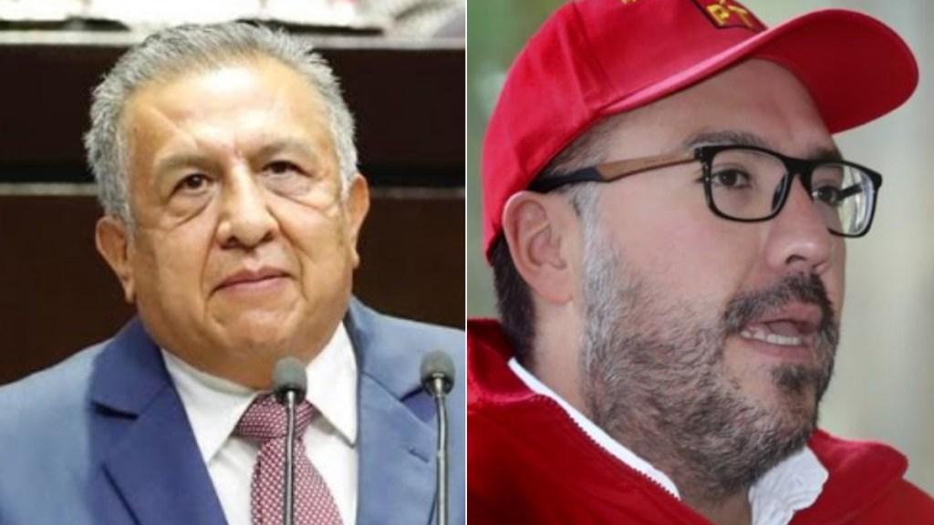 """""""La justicia por encima de la política"""", reconoce FGJ tras desafuero de Toledo y Huerta - Mauricio Toledo y Saúl Huerta 2"""