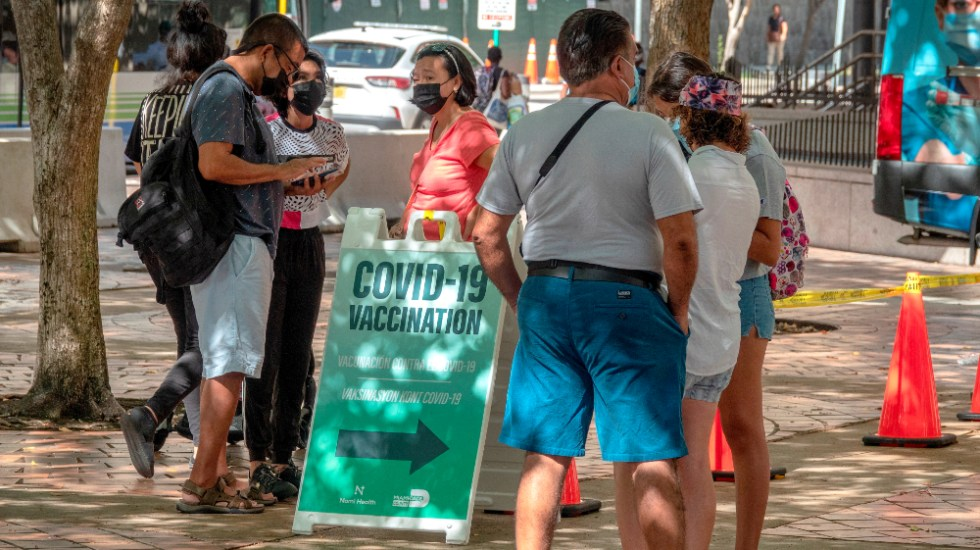 Florida sigue tendencia ascendente: más de 16 mil hospitalizados por COVID-19 - Miami Florida covid coronavirus