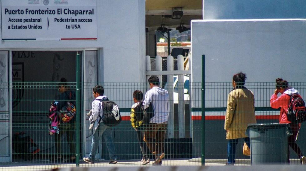 EE.UU. en conversaciones con México para reanudar programa migratorio - EE.UU. en conversaciones con México para reanudar programa migratorio. Foto de EFE
