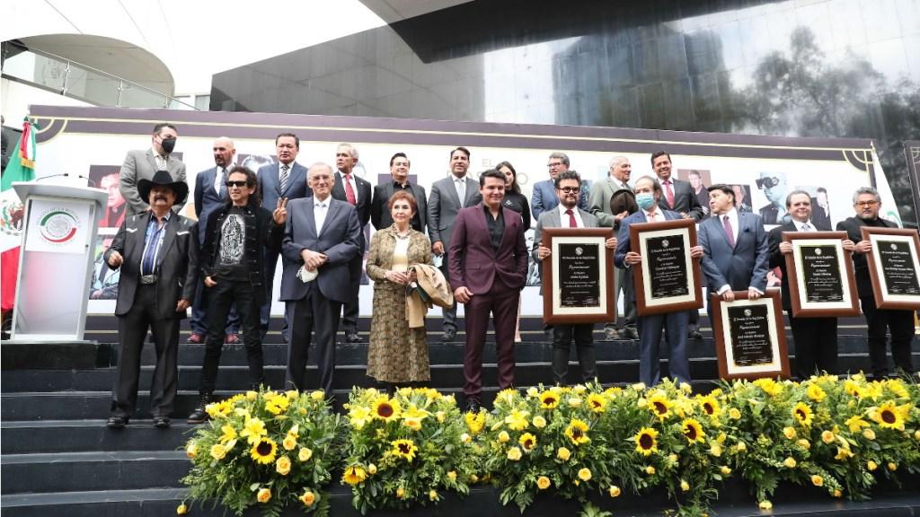Músicos compositores mexicanos Senado reconocimiento