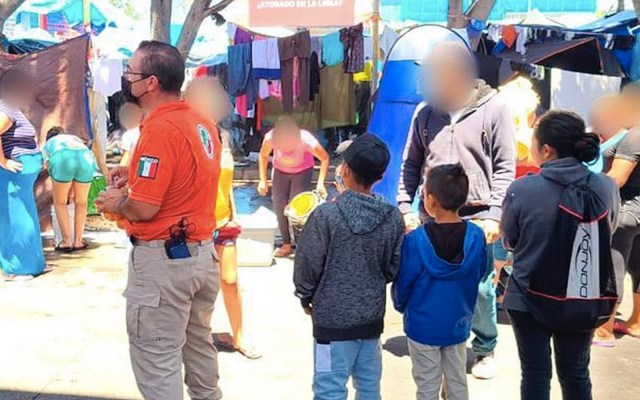Save the Children pide a México proteger a menores migrantes - Aumenta flujo de menores de edad migrantes en México. Foto de EFE