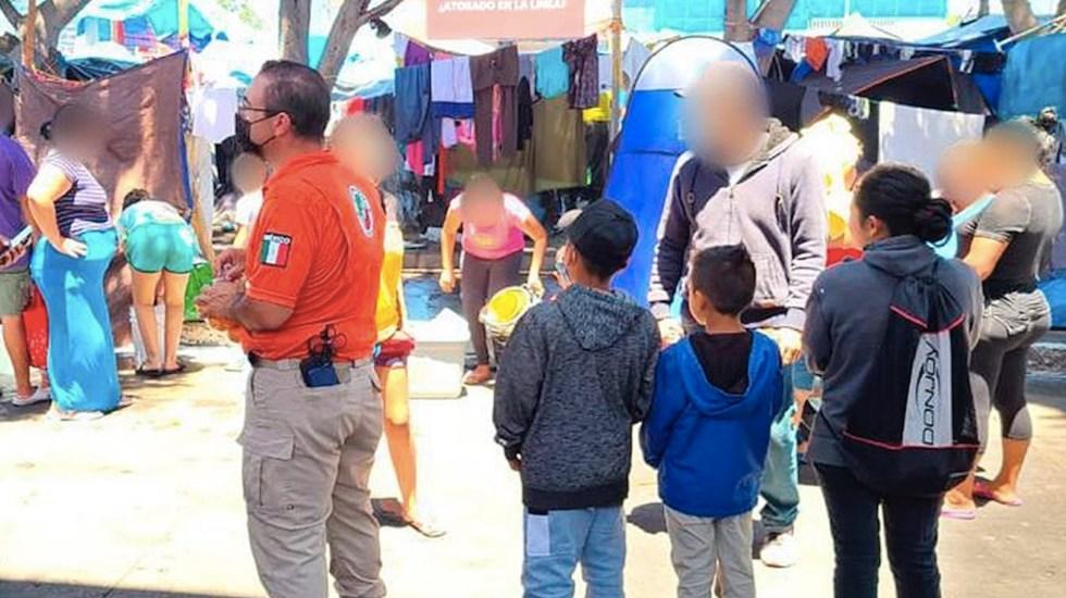 """Alertan sobre menores no acompañados y """"detenciones violentas"""" en México - Aumenta flujo de menores de edad migrantes en México. Foto de EFE"""