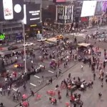 Policías investigan tiroteo en Times Square, Nueva York