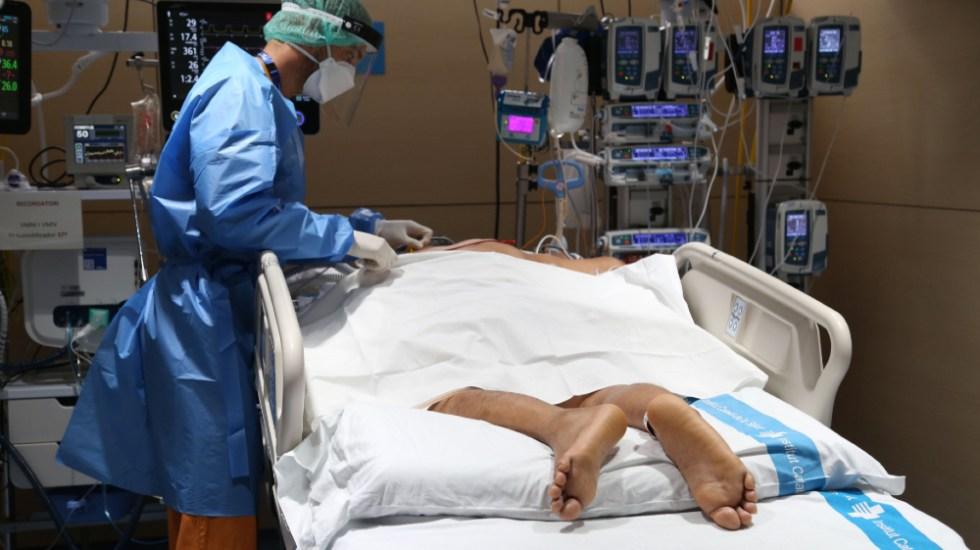 Poner a pacientes bocabajo reduce necesidad de intubación y mortalidad - paciente boca abajo covid coronavirus