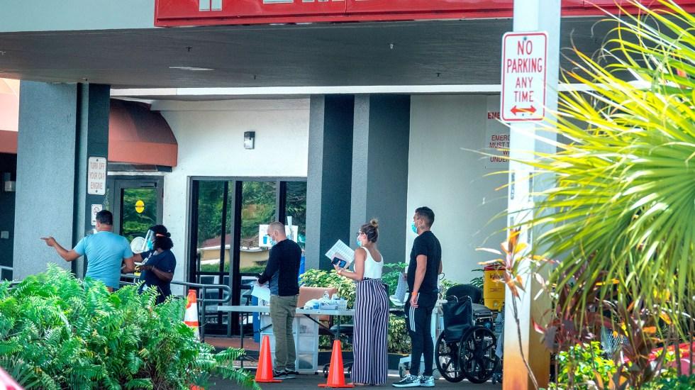 Florida, centro de la pandemia en EE.UU. por variante Delta y poca vacunación - Pandemia de coronavirus en Florida