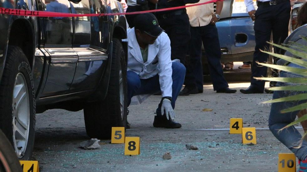Suman 96 mil 897 homicidios dolosos en lo que va del sexenio - Peritos de México en escena del crimen