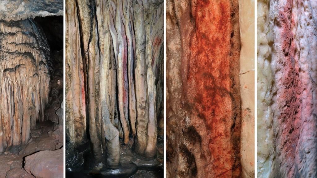 Científicos constatan origen humano de pinturas más antiguas del mundo - Científicos constatan origen humano de pinturas más antiguas del mundo, Foto de EFE