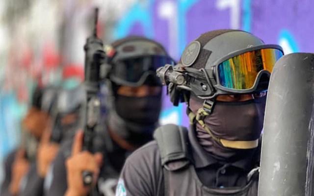 Tiroteo entre policías en Veracruz deja dos muertos - Policías de Veracruz