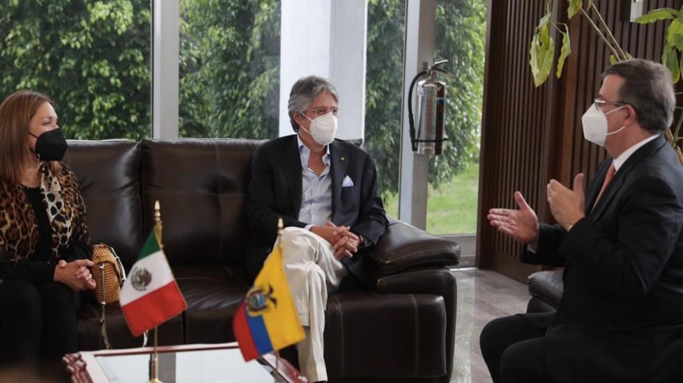 Presidente de Ecuador llega a México para visita con agenda comercial - Presidente de Ecuador llega a México para visita con agenda comercial. Foto de @LassoGuillermo