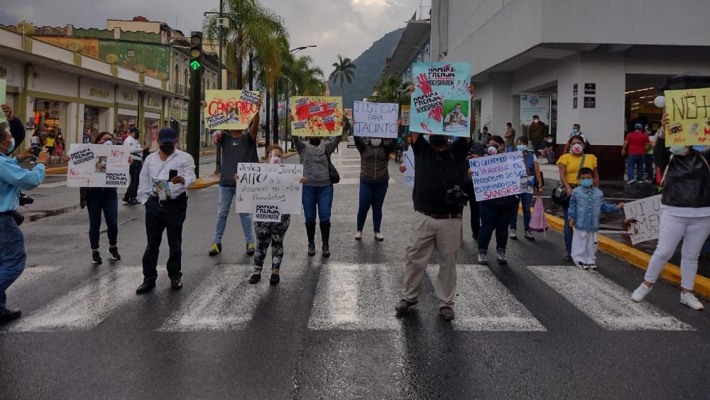 AMLO admite que mecanismo de protección a periodistas no es eficaz - protesta periodistas asesinato Jacinto Romero Flores