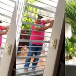 #Video Sorprenden a presuntos criminales entrando a casa en Quintana Roo