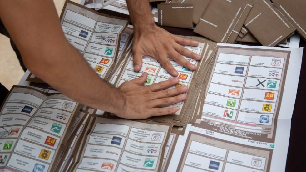 AMLO denuncia poca cobertura a recuento de votos en Campeche - recuentos votos boletas Campeche
